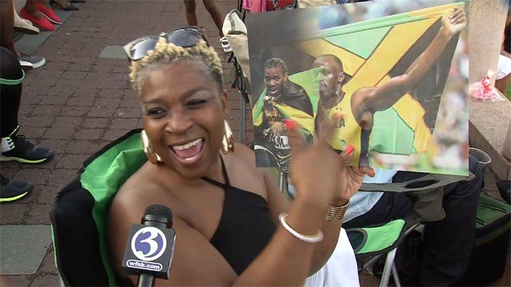 """Thousands gathered on Hartford's Riverfront to attend the 12th Annual """"Taste of Caribbean and Jerk Festival"""" on Saturday evening. (WFSB)"""