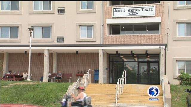 Residents in the John Ashton Tower in Willimantic said they feel overlooked and neglected after living for months with a broken elevator in their building. (WFSB).