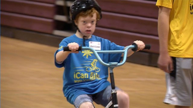 I Can Bike Camp is helping children with special needs learn how to ride a bicycle. (WFSB)
