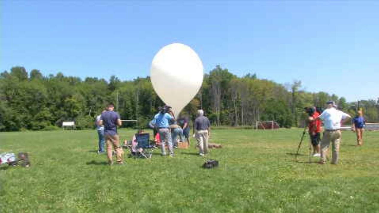 Students are working with NASA to livestream the solar eclipse (WFSB)