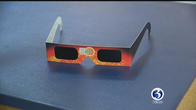 These special glasses are needed when checking out the solar eclipse (WFSB)