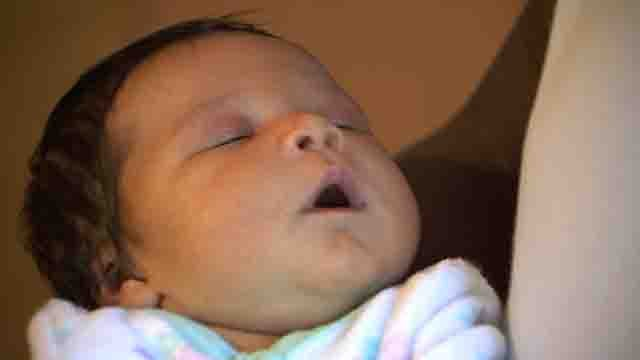 Some Wallingford firefighters helped bring Skylar into the world over the weekend (WFSB)