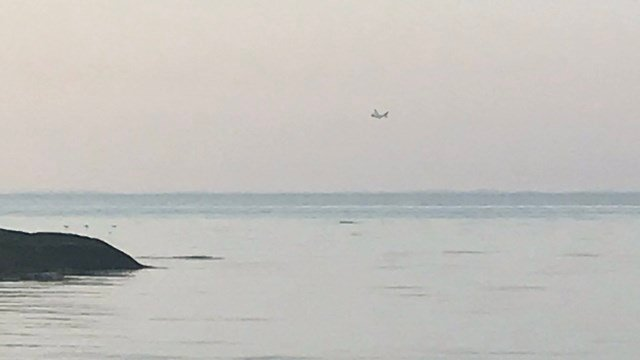The Coast Guard is searching Long Island Sound after reports of two red flares late Wednesday (WFSB).