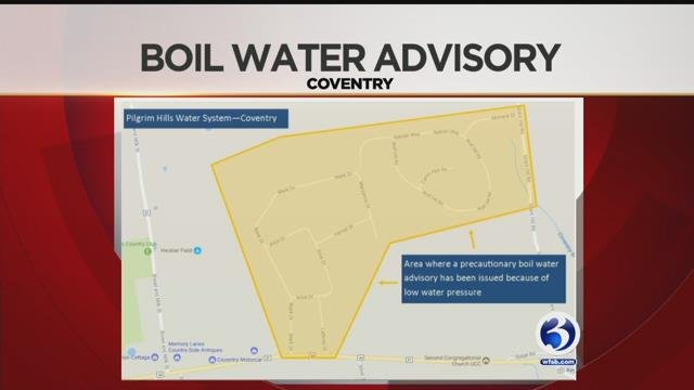 Some Connecticut Water Company customers in Coventry are being urged to boil their water. (WFSB)