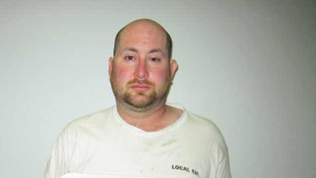Lee Mitchell  is accused of pointing a handgun at campers in East Hampton on Thursday night.  (East Hampton Police Department)