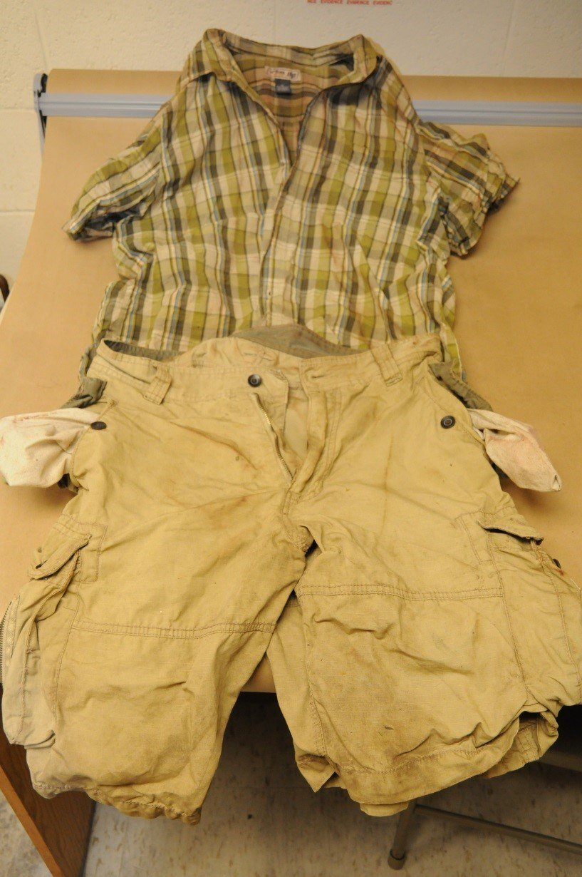 The man whose body was found in the Shetucket River last month was wearing these clothes. (Norwich police)
