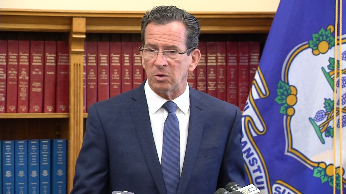 Gov. Dannel Malloy. (WFSB file)