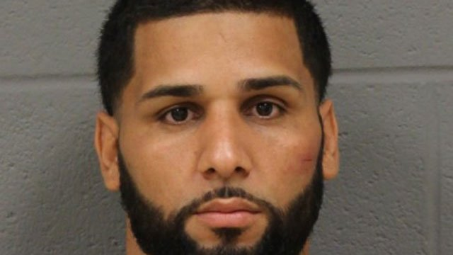 Pedro Maldonado was arrested after two officers were injured on Friday. (NEW BRITAIN POLICE DEPARTMENT)