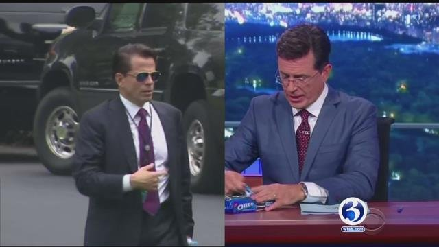 Anthony Scaramucci will be on The Late Show on Monday night