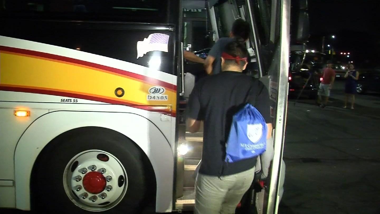 Dozens of CT immigrants headed to Washington DC on Tuesday to save the DACA program. (WFSB)
