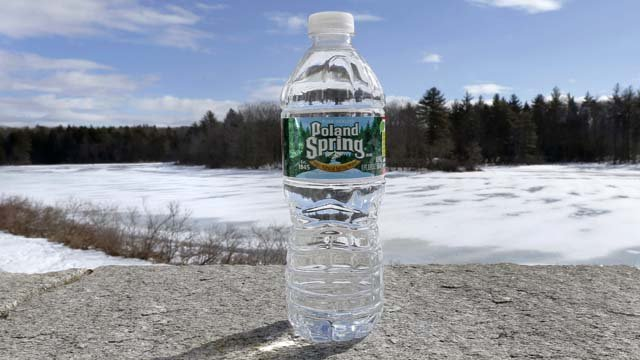 Poland Spring is being targeted by second lawsuit over its labeling. (AP Images)