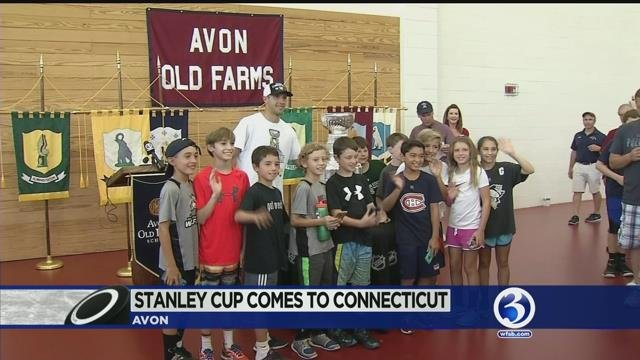 Stanley Cup comes to CT