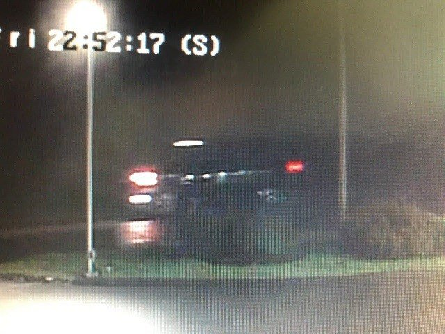 The truck police are seeking in connection with a hit & run.  (Waterford Police Facebook)