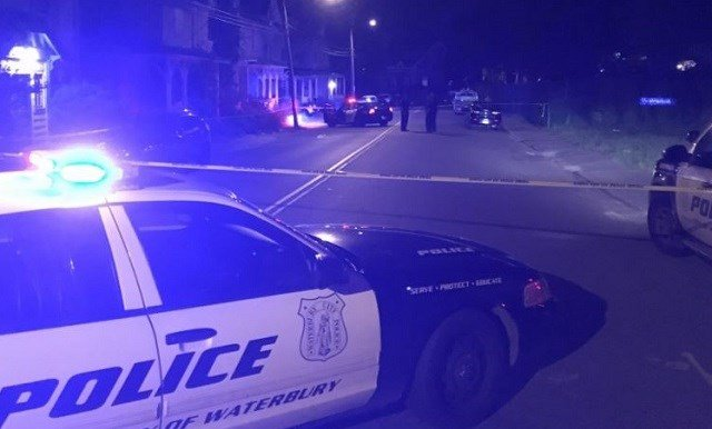 Waterbury Police are investigating a shooting at the corner of Pine Street and Hillside Avenue on Saturday evening. (WFSB)