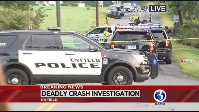 1 dead in Enfield crash