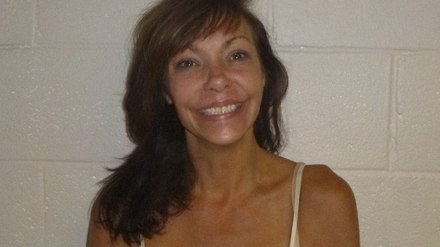 Katrina Oliver is accused of drunk driving into a liquor store in North Stonington. (State police)