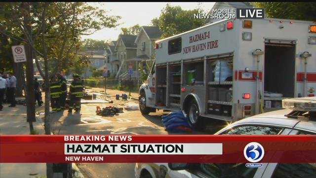 Bomb squad, SWAT called to home in New Haven