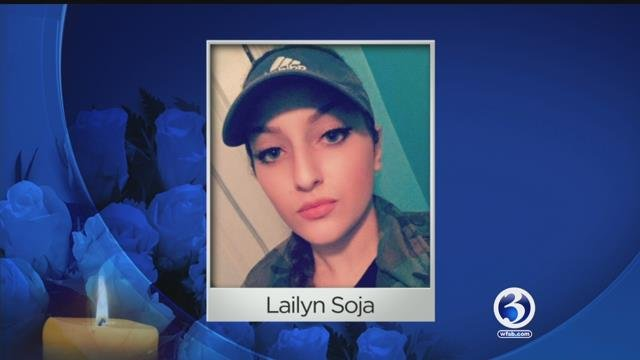 Lailyn Soja died in a crash early Monday morning. (Facebook)