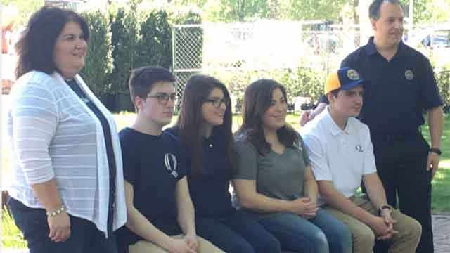 The Ciacciarella quadruplets plan to move into Quinnipiac University in Hamden on Wednesday. (WFSB)