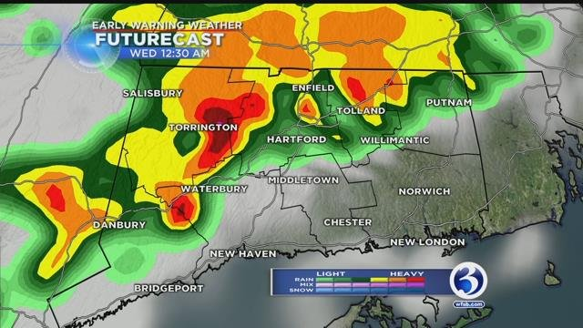 Severe weather threatens CNY this afternoon and early evening