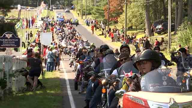 More than 1,000 motorcyclists hit the road this weekend (WFSB)