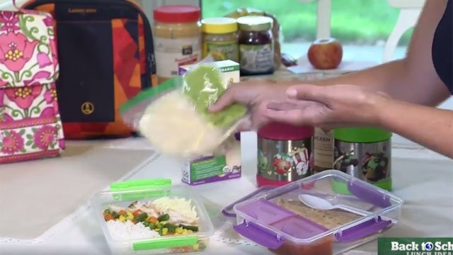 Channel 3 Anchor Melissa Cole shows us what to do with leftovers for kids' lunches. (WFSB)