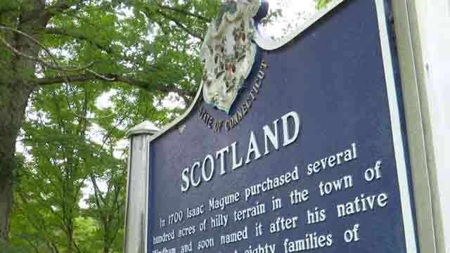 The town of Scotland is considering dissolving (WFSB)