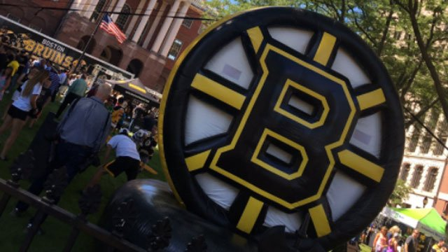 The Boston Bruins are in Hartford on Wednesday for their fan fest. (WFSB)