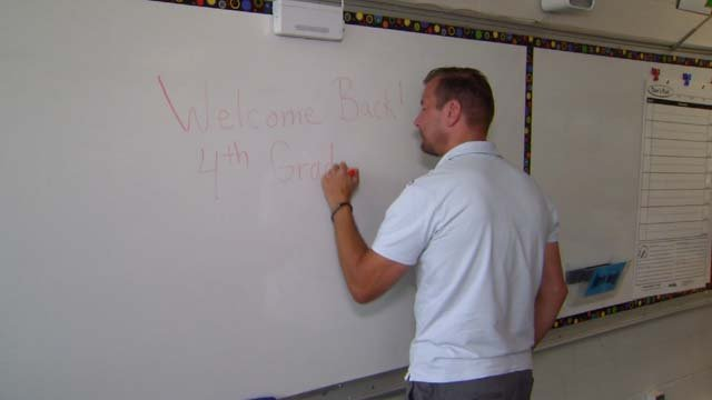 Phil Marvin is a living example of what he teaches students in the classroom (WFSB)