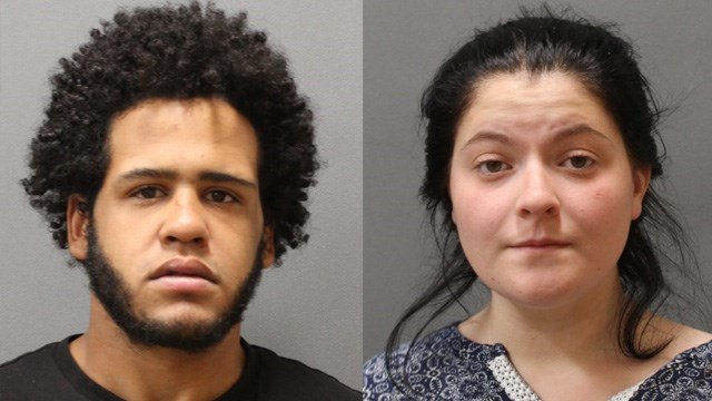 Isaiah Snell and Mary Dejesse were arrested after a drug deal disagreement turned into an argument in Plainfield, according to police. (Plainfield police)