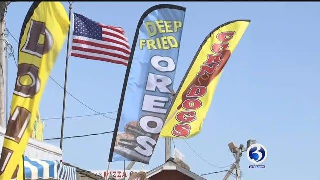 The Woodstock Fair kicks off on Friday. (WFSB)