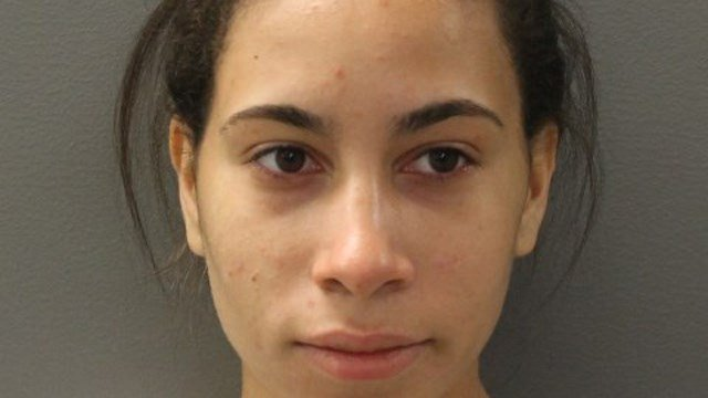 Katerah Edmundson tried to stab and electrocute two women at a Hamden nail salon, according to police. (Hamden police)