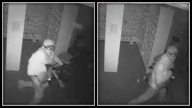 Police are looking for a man who broke into a pharmacy in Killingworth early Monday morning. (CT State Police)