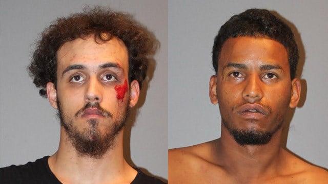 Paul Thompson and Josue Rivera-Suarez were arrested for burglarizing a Stratford deli, according to police. (Stratford police)