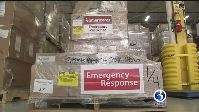The Americares is shipping emergency supplies and teams to Florida (WFSB)