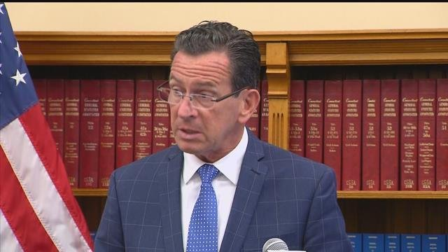 Gov. Dannel Malloy presented his newest budget compromise on Friday. (WFSB)