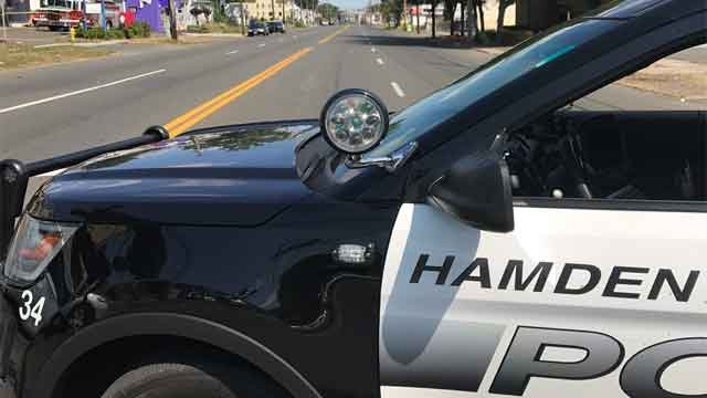 Police are investigating a shooting in Hamden on Sunday morning. (WFSB)