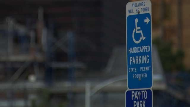 Disabled drivers will be charged for parking in Hartford (WFSB)