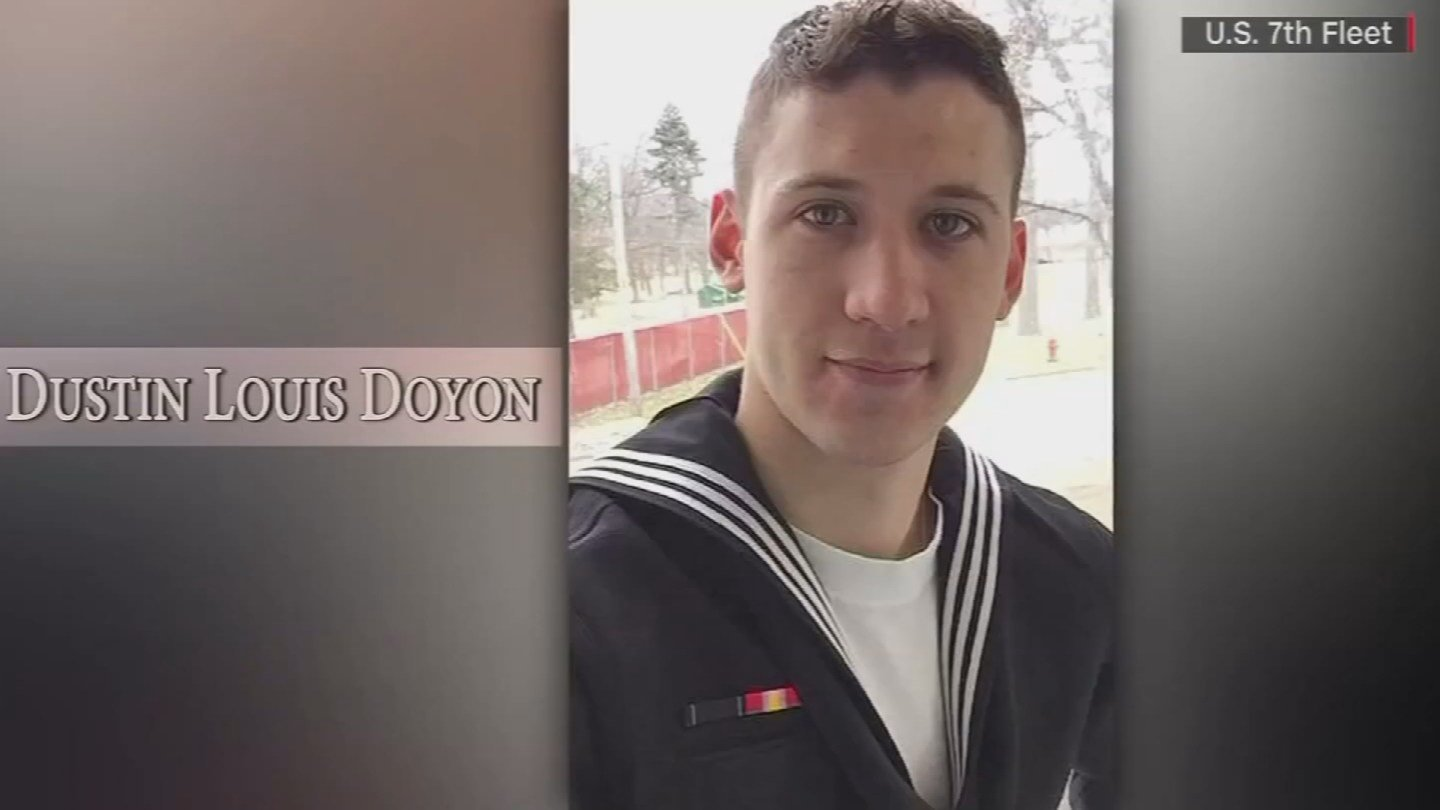 Petty Officer Dustin Doyon. (WFSB)