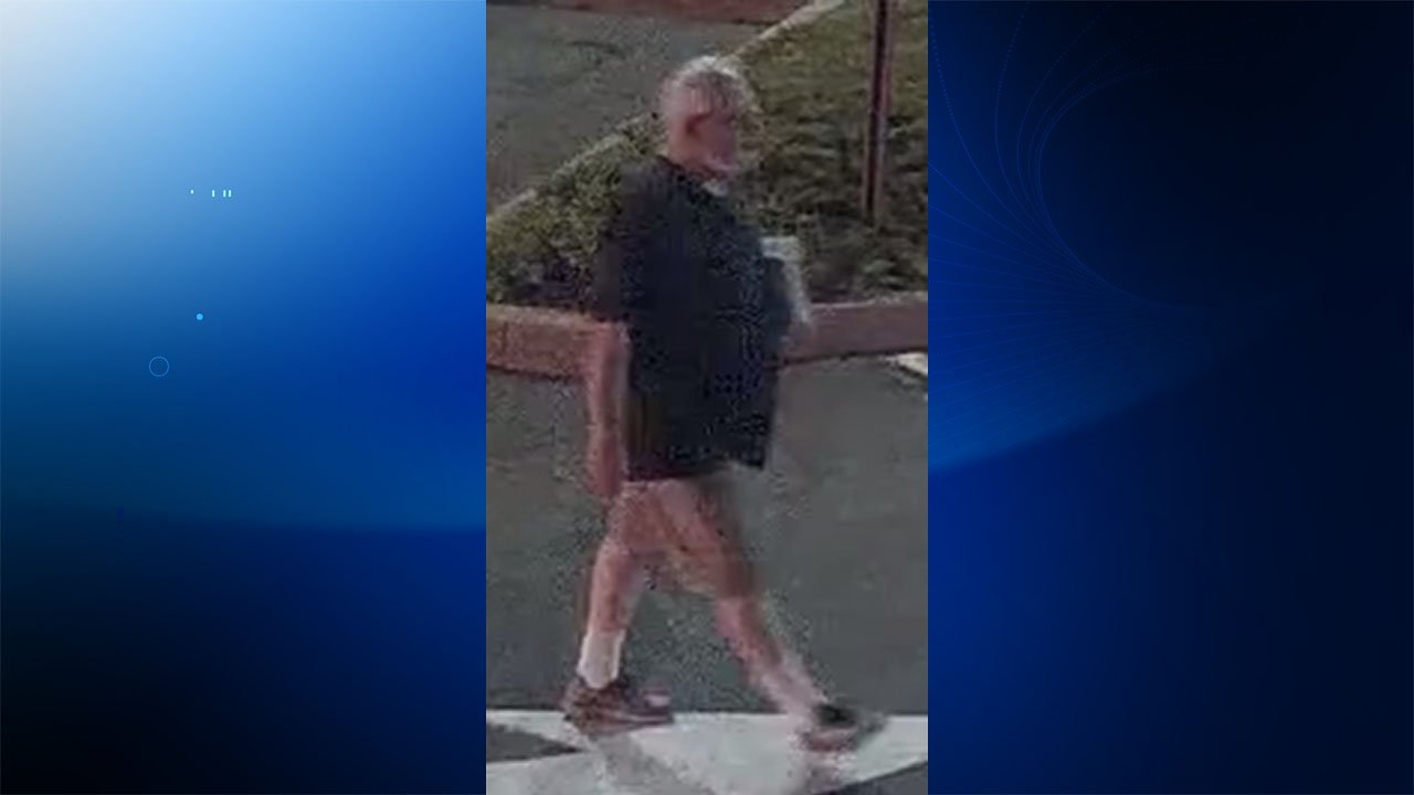 Norwalk police are looking to identify this person of interest after offensive fliers were left at a bank. (Norwalk police)