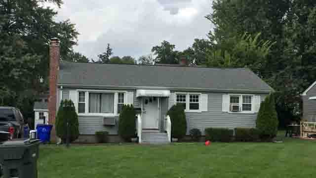 A drug investigation was underway at a home in Wethersfield on Thursday (WFSB)