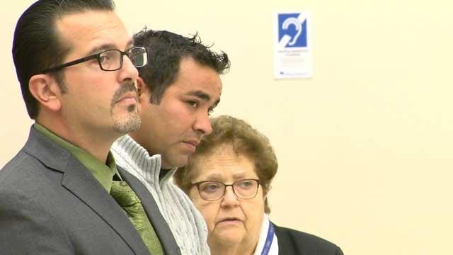 Raimundo Donascimento faced a judge on Thursday (WFSB)