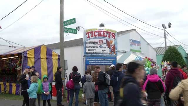 The opening night for the Berlin Fair was held on Thursday (WFSB)