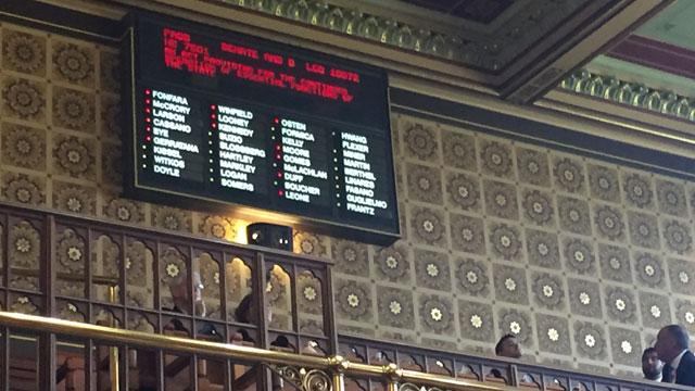 GOP budget proposal passes state Senate. (WFSB)