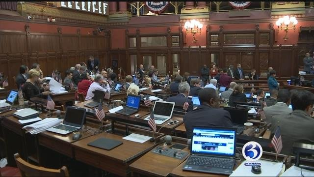 The Special session will be held on Friday instead of Thursday, due to Winter Storm Brody. (WFSB file photo)