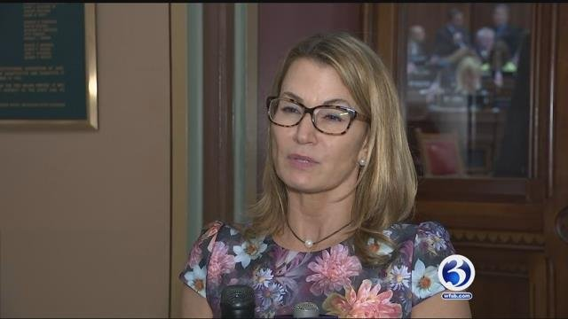 Minority Leader Themis Klarides said she hopes the governor will at least consider the proposal. (WFSB)