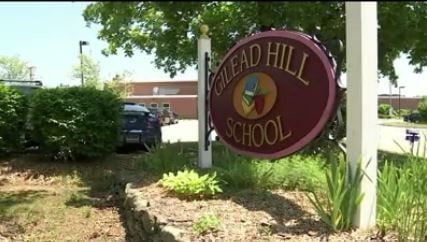 Gilead Hill Elementary School in Hebron (WFSB file photo)