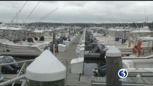 Boat owners prepare for the impact of Hurricane Jose (WFSB)