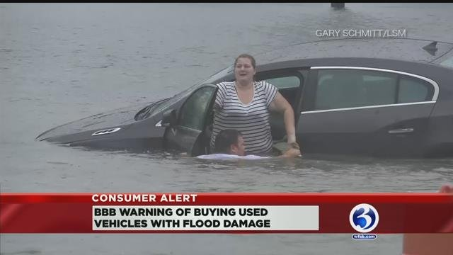 VIDEO: Used car buyers urged to look out for flood-damaged vehicles