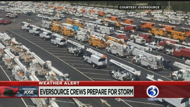 VIDEO: Eversource says it's ready for Jose